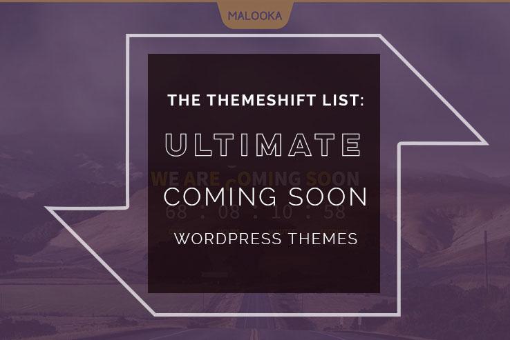 ultimate coming soon wordpress themes