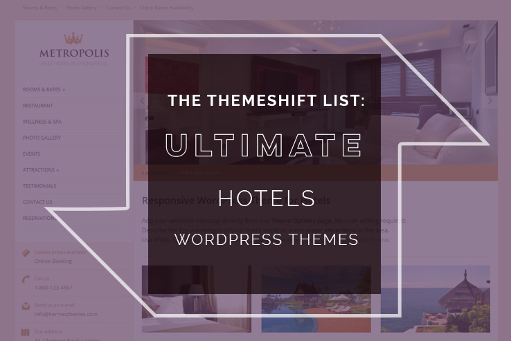 ultimate hotels wordpress themes