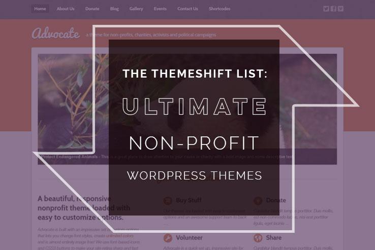 Non-Profit WordPress Themes