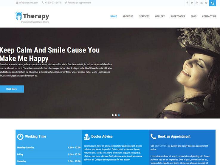 Therapy - Responsive Dental Theme