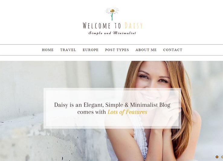 Daisy - Simple and Minimalist