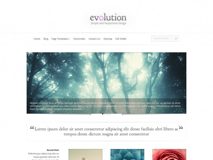 Evolution by ElegantThemes