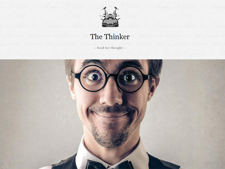 The Thinker by Anariel Design