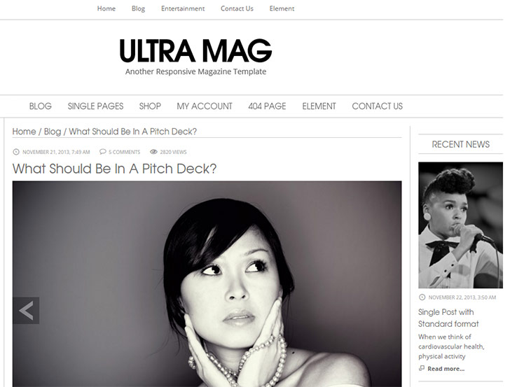Ultra Mag - Multipurpose Theme