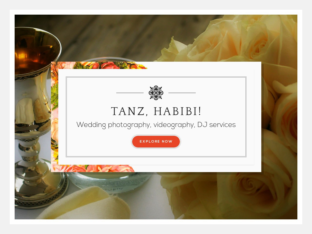 Tanz, Habibi!–Wedding Services WP theme