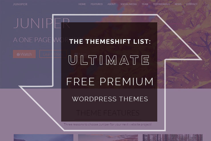 53 Free Premium Wordpress Themes 2019