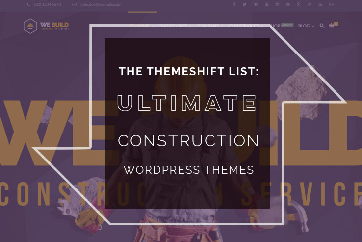 ultimate construction wordpress themes