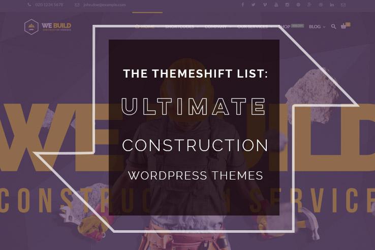 ultimate construction wordpress themes