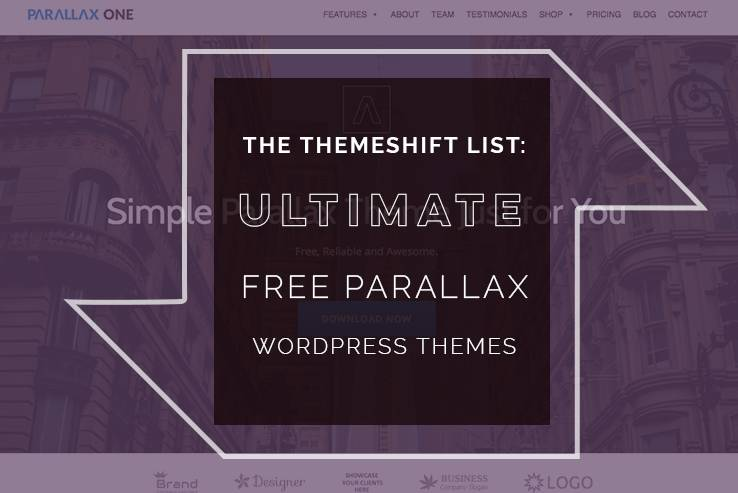 32+ Free Parallax WordPress Themes for 2018