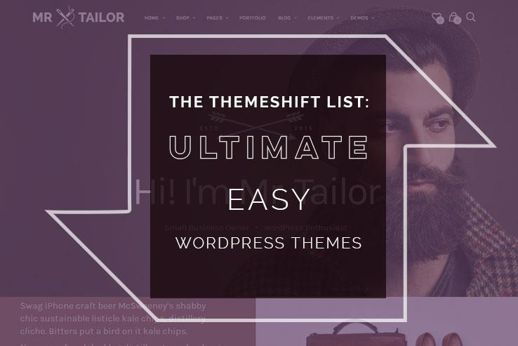 easy WordPress themes