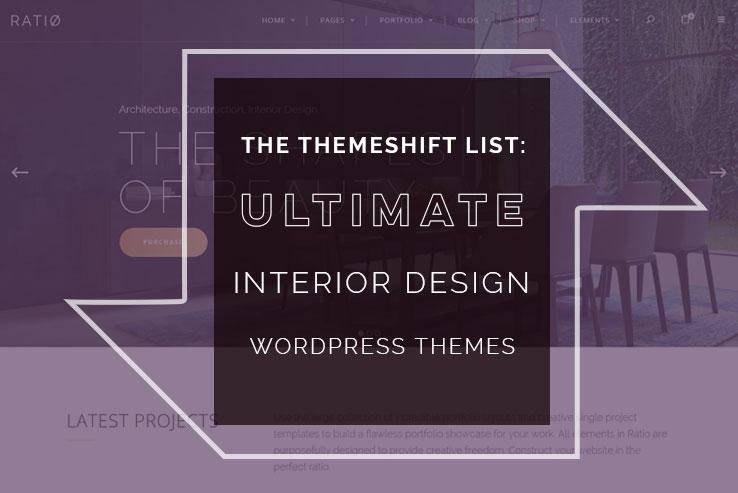 Interior Design WordPress Themes