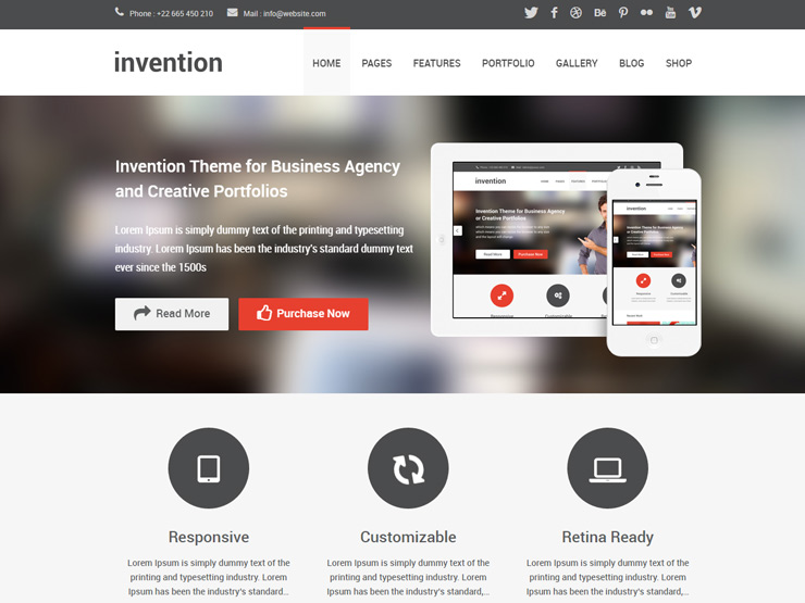 Invention Responsive