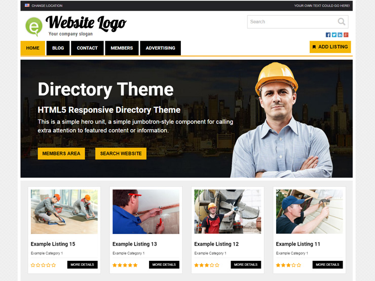 Directory Theme from Premium Press