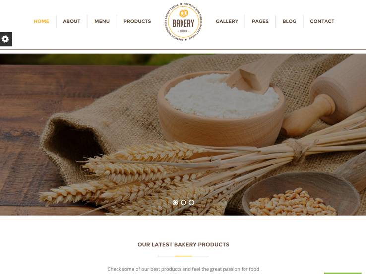 Bakery - Best Selling Food Theme