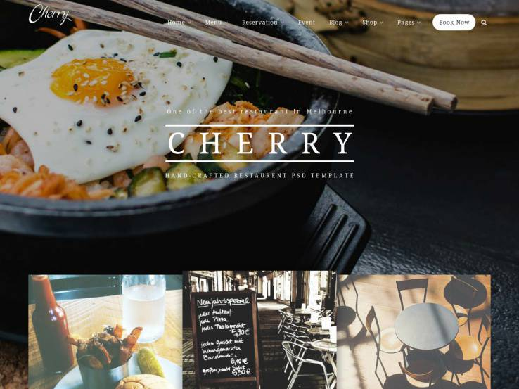Cherry - Clean and Responsive