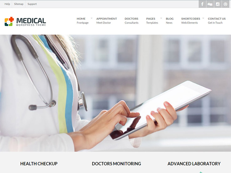 Medical - Premium WordPress Theme