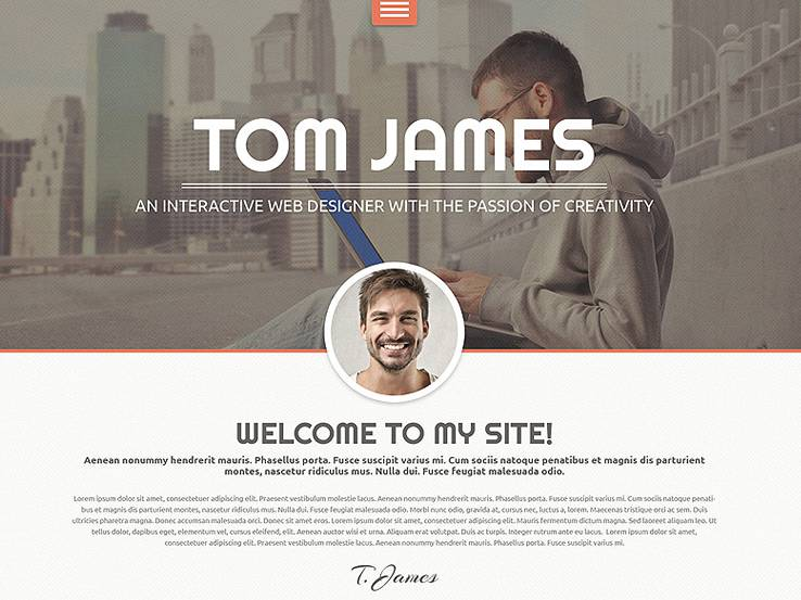 20 stunning wordpress resume themes 2018 yelopaper Images